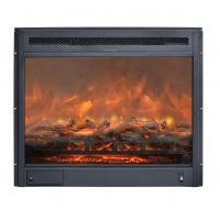 "Wholesale 23"" insert electric stove real log LED flame effect GM2000-23 remote control built-in fireplace www.knsing.com from china suppliers"