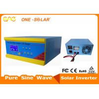 Quality Low Frequency Off Grid Solar Inverter 120V 240V PWM Controller For 1 Phase Motor for sale