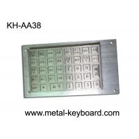 Wholesale Vandal Proof Rugged Stainless steel Keyboard with 38 Keys Charging Kiosk Keyboard from china suppliers