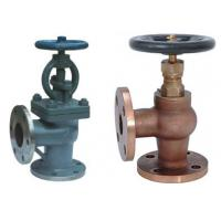 Wholesale Screw Down None Return Valve Globe Design With Angle Type DN15 ~DN200 Size from china suppliers