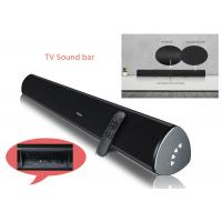 Quality Bluetooth 3.0 Stereo Sound Bar / Wireless TV Soundbar For Smart Phone Control for sale