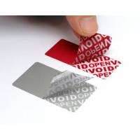 Wholesale Variable Data Printing Tamper Proof Security Labels Hi - Tech Nanometer Technology from china suppliers
