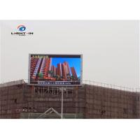 Wholesale Fixed Install P10 Outdoor Full Color LED Advertising Display Screen from china suppliers