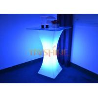 Wholesale Waterproof LED Glowing Bar Tables With Rechargeable Lithium Battery For Night Club from china suppliers