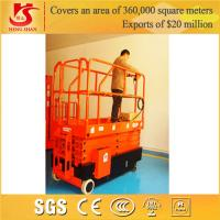 Wholesale 4 wheels mobile scissor lift with Factory price 3.5m-12m from china suppliers