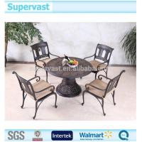 Wholesale Luxury Cast Aluminum Patio Furniture Garden Dinning Table and Chair Sets from china suppliers