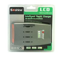 Wholesale Soshine C3 LCD Quick Charger for 4pcs NiMh / NiCd AA AAA Batteries from china suppliers