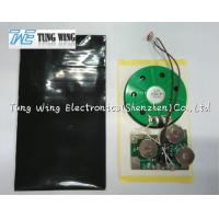 Wholesale Festival Greeting Card Light Sensor Sound Module , plush toy sound box from china suppliers