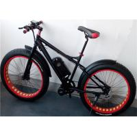 Wholesale 6061 T6 Aluminum alloy 26 x 4.0 Electric Fat Tire Bike Shimano 7 Speed Mountain Bike from china suppliers