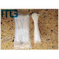 Wholesale Multi Sizes Nylon 66 UV Resistant Cable Ties , Colored Plastic Ties For Cables from china suppliers