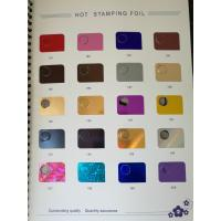 Wholesale Hot/cold stamping foils for hot foil stamping machine on paper, cloth, aluminum plate from china suppliers