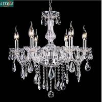 Wholesale New crystal chandelier for home lighting lustres de cristal E14 bulb light fixtures from china suppliers