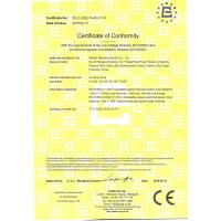 Wuhan Maxsine Electric Co., Ltd Certifications