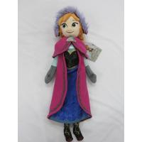 Quality 20 inch Purple Frozen Ana And Elsa Disney Plush Toys Soft Cartoon Stuffed Doll for sale