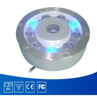 Wholesale Fountain Led Underwater Lights Single Color With 15mm Tempered Glass from china suppliers