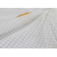 Wholesale Stabilizer Voile Embroidered Eyelet Polyester Lace Fabric For Wedding Dress from china suppliers