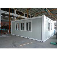 Wholesale Expandable Flat Pack Shipping Container H Steel Beam Refugee Home from china suppliers