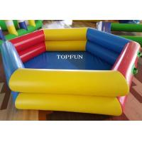 Wholesale PVC Tarpaulin Inflatable Swimming Pools 3m Diameter Various Color from china suppliers