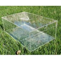 Quality High quality Customize Clear Acrylic Shoe Rack With Removable Lid for sale