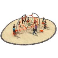 Buy cheap 580*400*250cm Rope Climbing Frame Playground For Open Space TQ - TN501 from wholesalers