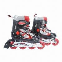 Wholesale Inline Skate Shoes with High Rebound PU, Made of Mesh and Synthetic PU from china suppliers