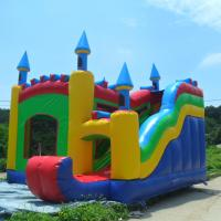 Wholesale PVC Tarpaulin Durable Inflatable Jumping Castle Inflatable Amusement Park For Sale from china suppliers