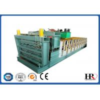 Wholesale three layer roofing sheet roll forming making machine with high speed from china suppliers