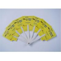 Quality Eco Friendly Cute PP Seven Hand Folding Fans For Promotional Gifts for sale