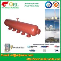 Wholesale Hot Water Boiler Drum For Power Station , Dryer Drum High Heating Efficiency from china suppliers