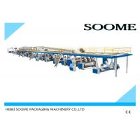 China Fully Automatic 3 Ply Corrugated Box Making Machine Electric Control System on sale