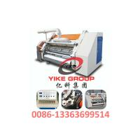 Wholesale Single Faced Corrugated Carton Machine 1400-1800mm Width Hard Chrome Material from china suppliers