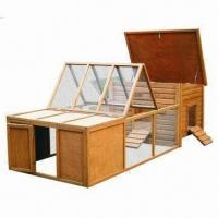 Wholesale Chicken Coop, House with Opening Roof, Made of Chinese Fir Wood from china suppliers