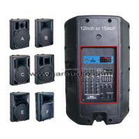 Wholesale 2 Way Active Plastic Cabinet Speaker With MP3 , DVD, CD , EQ from china suppliers