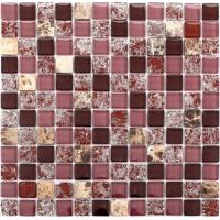 Wholesale Wall Decoration Kitchen Backsplash Mosaic Tiles Square Stone Marble Stickers from china suppliers