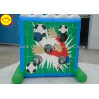 Wholesale Funny Inflatable Sports Games / Inflatable Shooting Game Soccer Goal Shooting Goals from china suppliers