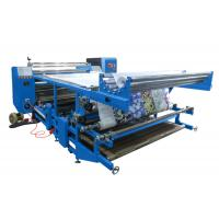 China Oil Recycle Heating Rotary Heat Transfer Printing Machine 1800mm For Garment on sale