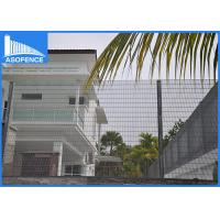 Buy cheap Galvanized 358 Welded Wire Mesh Fence Material , Anti Climb Mesh Fencing from wholesalers