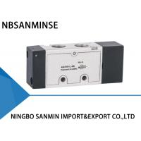 "Wholesale 1 / 8 ""  1 / 4 ""  Port  Single / Double Acting Solenoid Valve ISO9001 Certification from china suppliers"