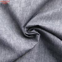 Wholesale F4081 100%P cationic fabric with two tone effect from china suppliers