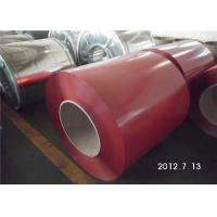 Wholesale Color Coated Surface PPGL Coil / Painted Aluminum Coil  Fire Resistance from china suppliers
