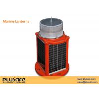 Wholesale 316 Stainless Steel Solar Marine Lantern IP66 Red Fixed or Flashing 20 Days Automony from china suppliers
