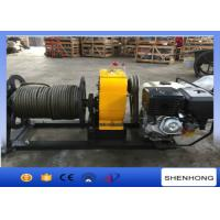 Wholesale 5 Ton HONDA Gas Engine Powered Winch Wire Rope Winch For Power Construction from china suppliers