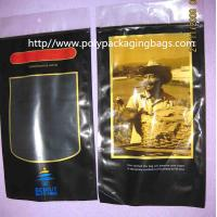 Wholesale Six Cigar Plastic Bags / Cigar Ziplock Bags OPP PE Laminated Material from china suppliers