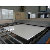 Wholesale Wall Cladding 4mm Pure White Backed Painted Glass With Clear Float Glass from china suppliers