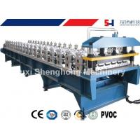 Quality Sturdy Construction Roof Roll Forming Machinery Automatically 12KW 10.5T for sale