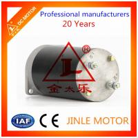 Wholesale Custom 80mm 800w 24v Direct Drive DC Motors / Electrical Hydraulic Motor from china suppliers