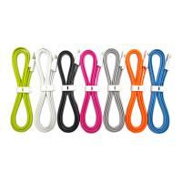 Wholesale Flat Micro USB Male to USB 2.0 Male Data Sync / Charging Cable 80cm from china suppliers