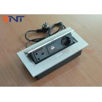 Wholesale Customized Conference Table Pop Up Outlets UK / EU Standard USB Charger from china suppliers