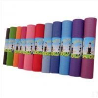 Wholesale Excellent Sticky PVC Yoga Mat Personalized , Custom Printed Exercise Floor Mats from china suppliers