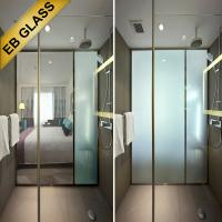 Wholesale Electric Smart Glass/Privacy Glass/ Switchable Glass for bathroom/eb glass brand from china suppliers